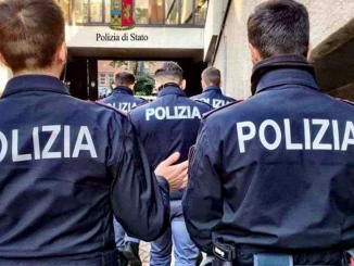 Audio choc del poliziotto