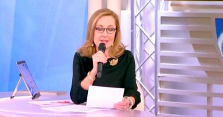 Barbara Palombelli piange a Forum