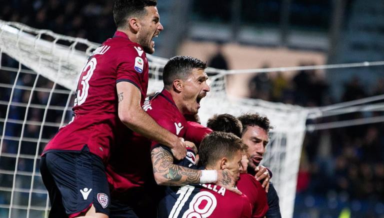 Il Cagliari supera l'Inter