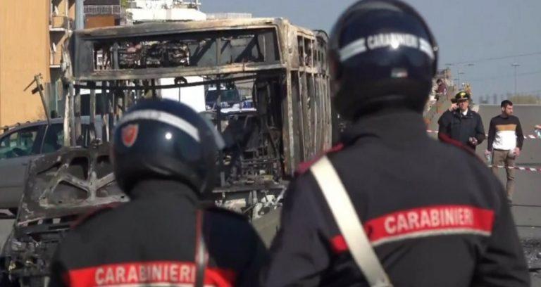 Bus dirottato, la lettera dei Carabinieri