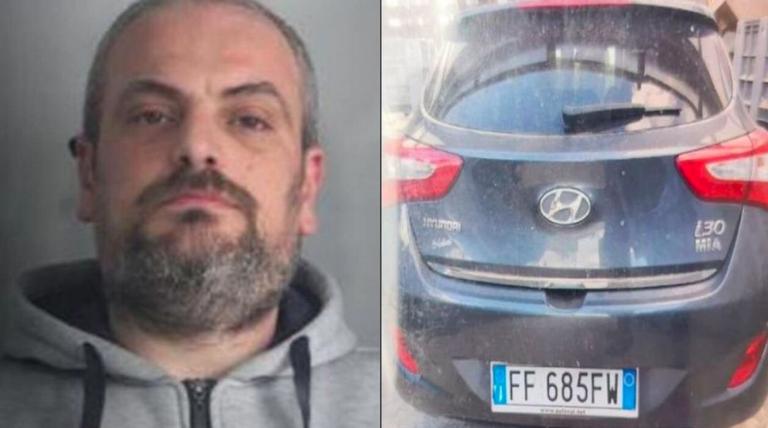 Ciro Russo ha dato fuoco all'auto dell'ex moglie