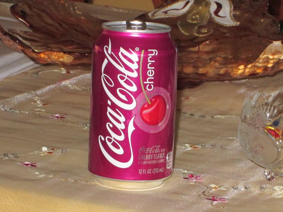 coca cola ciliegia