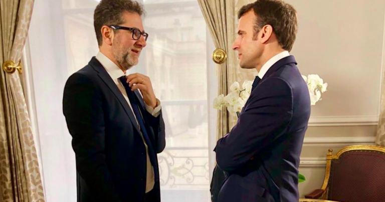 Fazio sul viaggio in Francia da Macron