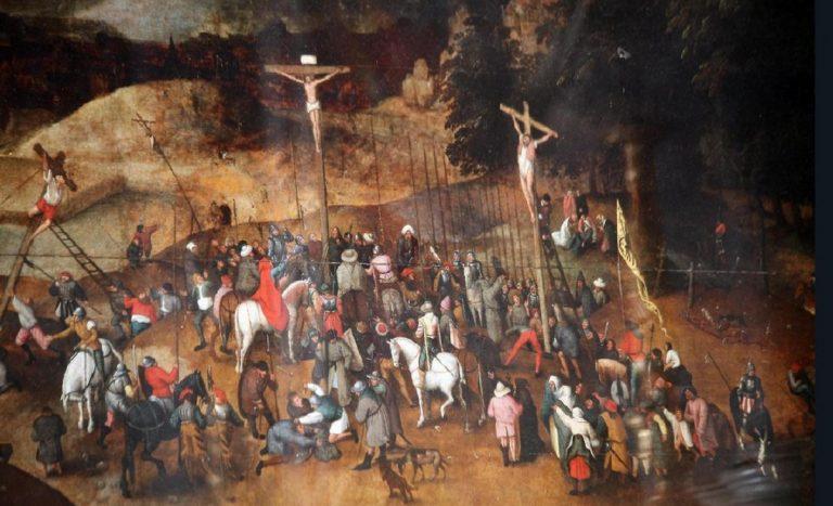 Rubano la 'Crocifissione' di Bruegel, ma è un falso