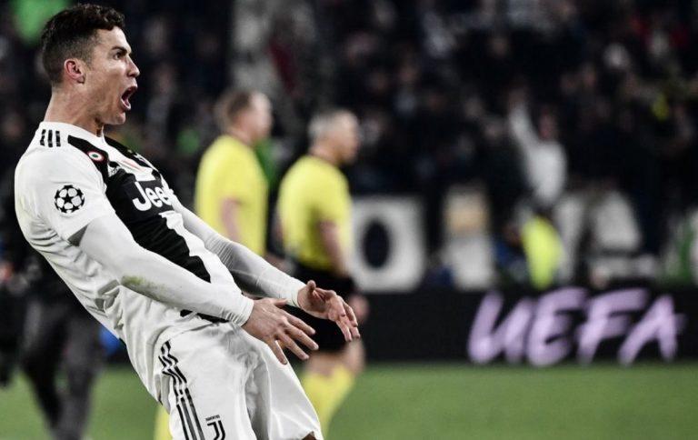 Cristiano Ronaldo, Juve-Atletico