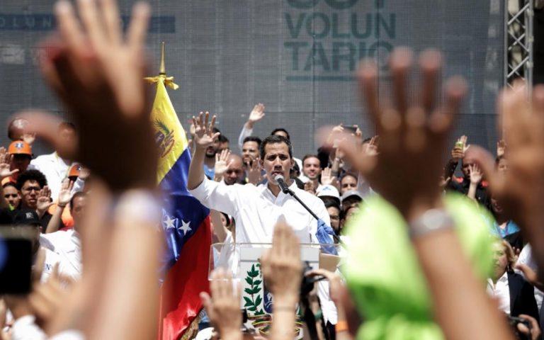 Guaidò di nuovo in Venezuela