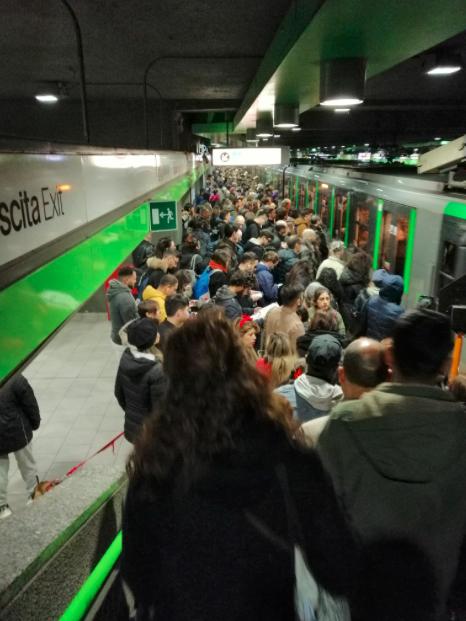 Incidente metro