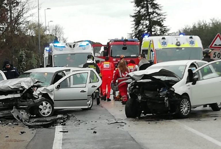 Rimini, grave incidente