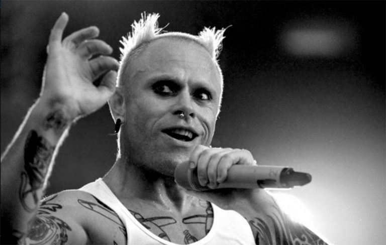 Keith Flint, frontman dei Prodigy