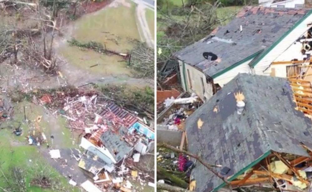 Le conseguenze del tornado