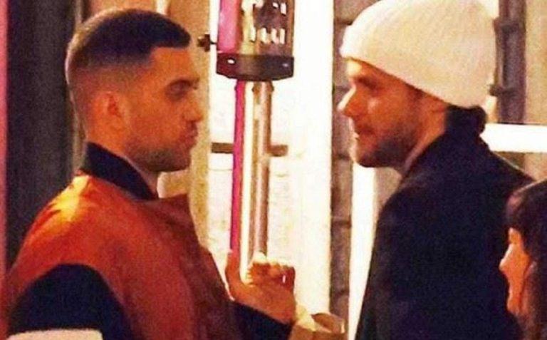 Mahmood litiga per strada con il fidanzato, lui scoppia a piangere