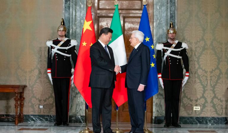 Mattarella incontra Xi Jinping