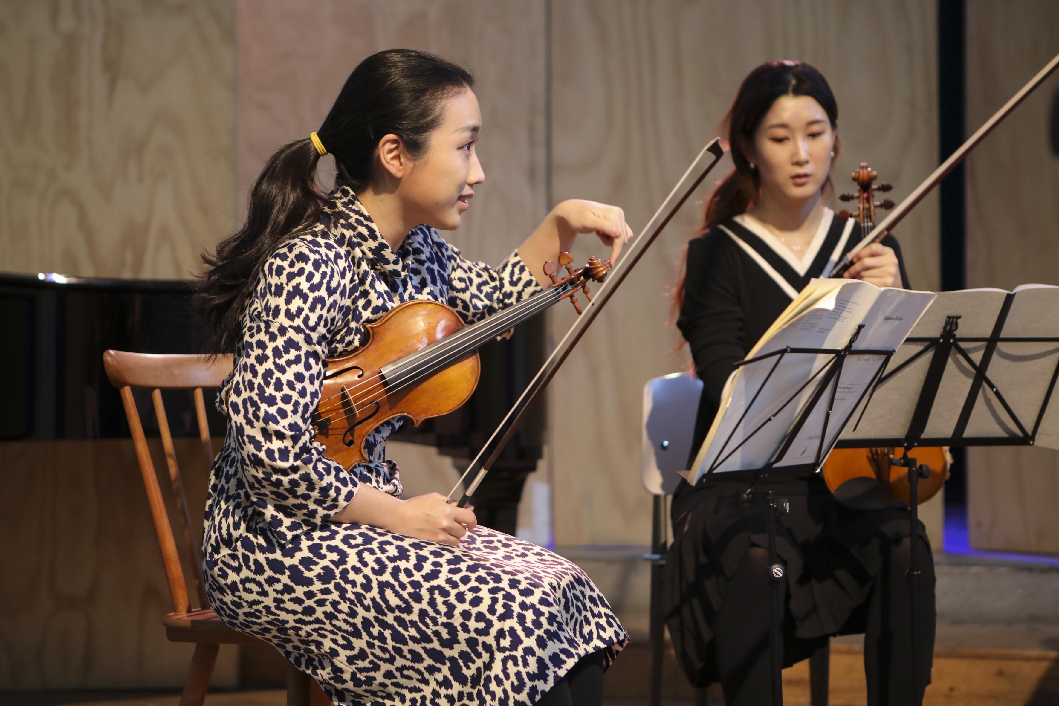 Musiciste di Brahms a Milano