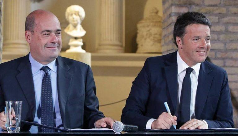 Nicola Zingaretti Matteo Renzi