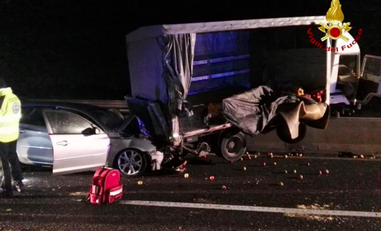 Padova, incidente autostrada A13