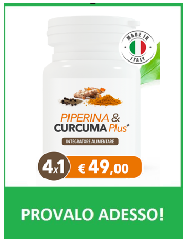 PIPERINA E CURCUMA PLUS.