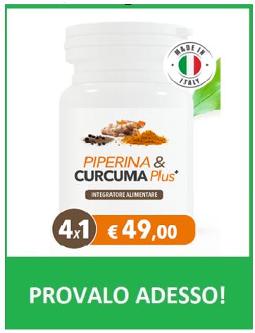 PIPERINA E CURCUMA PLUS.