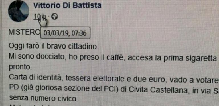 Primarie Pd, la bufala di Di Battista