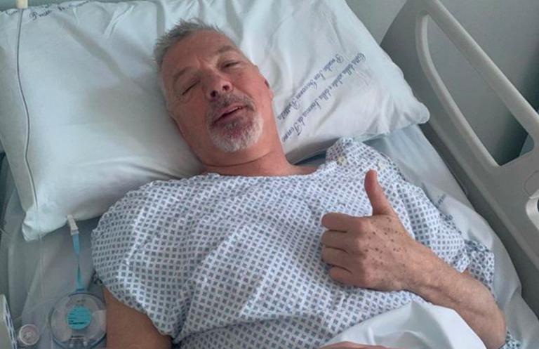 Stefano Tacconi operato per un'ernia: