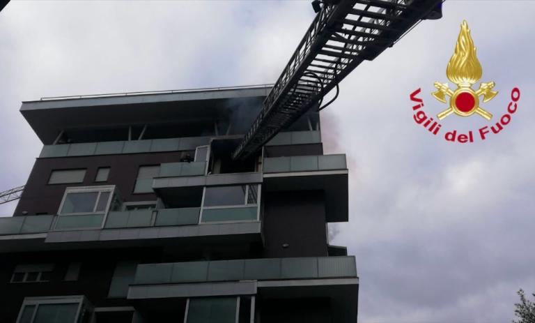 Terni, esplosione in appartamento, tre feriti