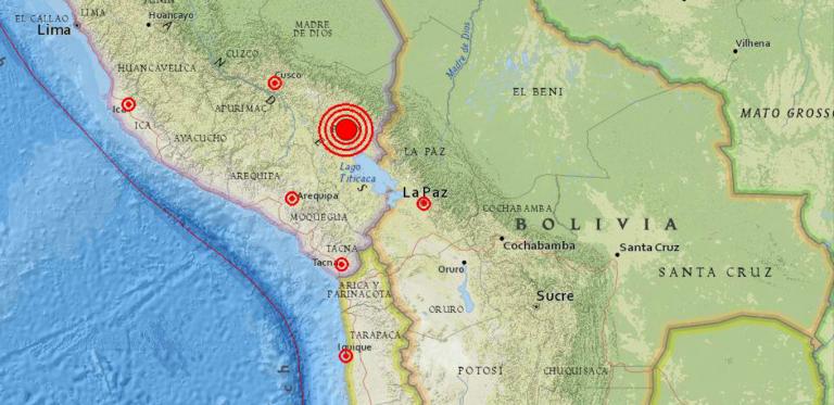 Terremoto in Perù