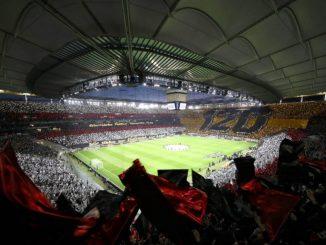 Tifosi Eintracht Francoforte a Milano