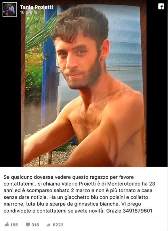 valerio-proietti-scomparso