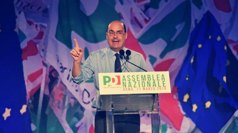 """Zingaretti all'Assemblea PD """"Serve un nuovo partito, cambierà tutto"""""""