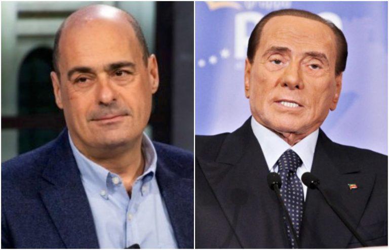 Zingaretti Berlusconi indagati