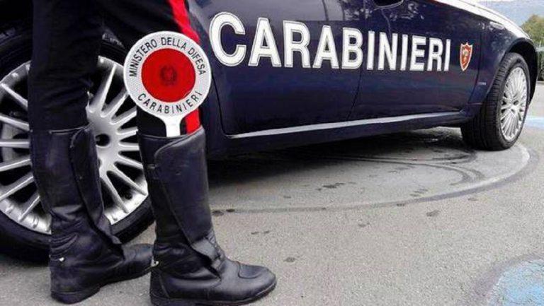 carabinieri rapinatore