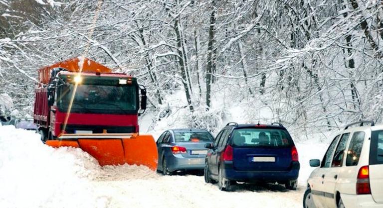 Ciclone polare e neve