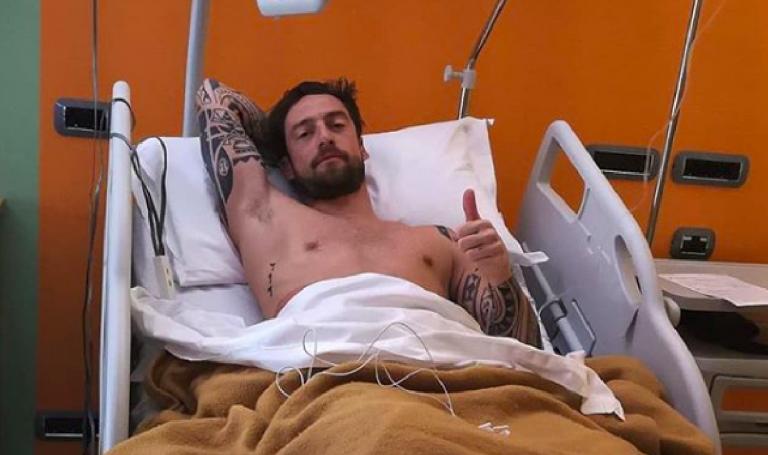 Claudio Marchisio operato