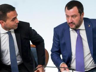 Di Maio Salvini scontro a distanza