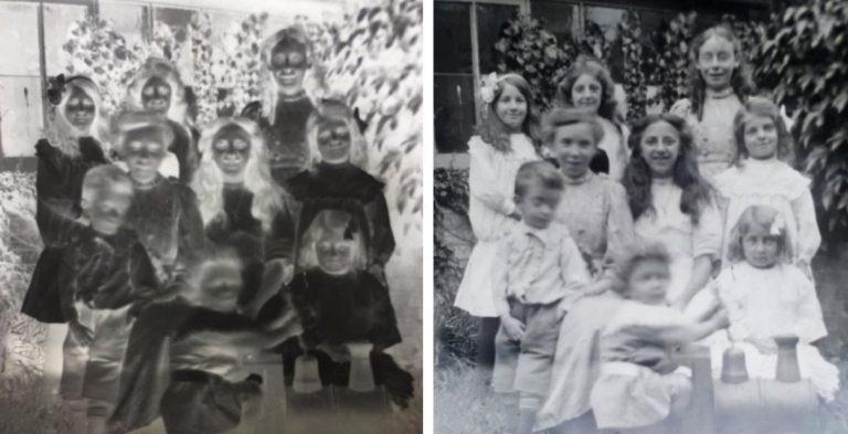 famiglia foto 100 anni