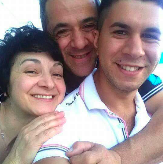 Francesco Florio e la famiglia