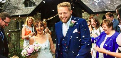 Il matrimonio di Tim e Pimrose