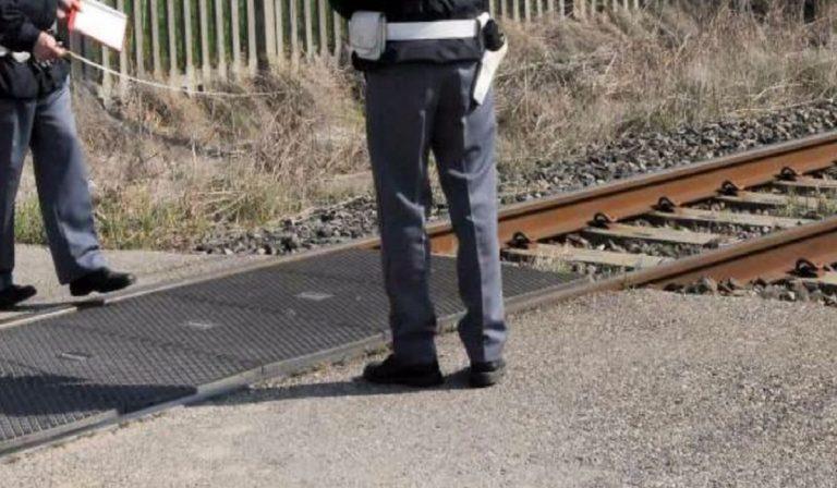 travolto e ucciso dal treno