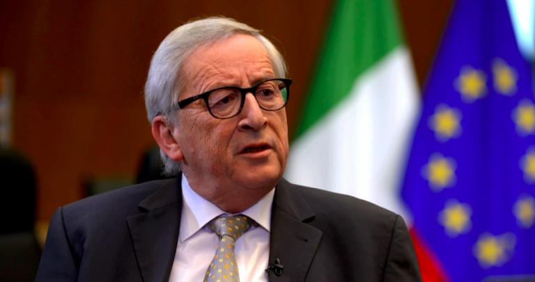 Juncker, crescita 0 per l'Italia