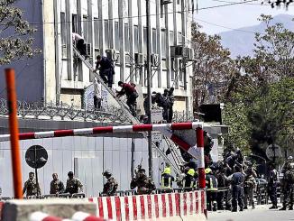 Kabul, attacco al Ministero dell'Informazione