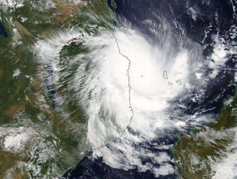 Il ciclone Kenneth raggiunge il Mozambico e la Tanzania