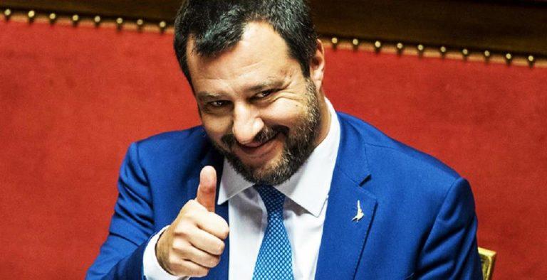Matteo Salvini Rom