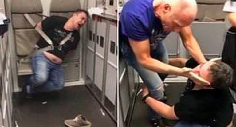 Medico ubriaco in aereo