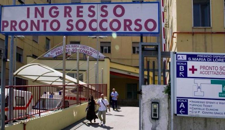 Napoli abbandonato ospedale, overdose
