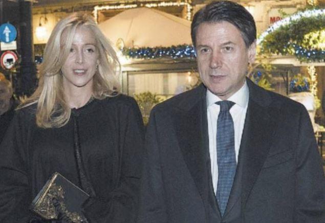 Olivia Paladino e Giuseppe Conte 2