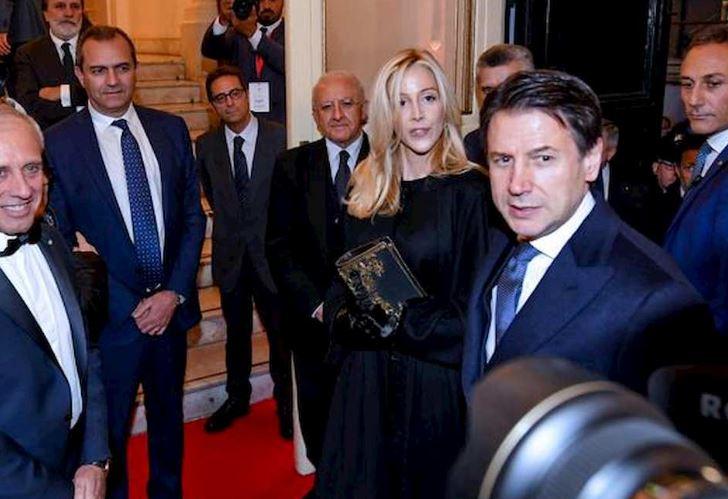 Olivia Paladino e Giuseppe Conte 1