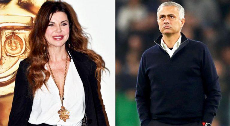 Alba Parietti e José Mourinho