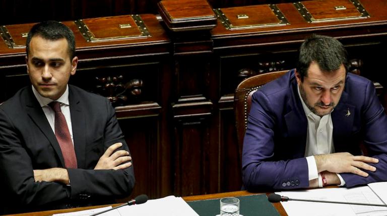 Salvini Di Maio Instagram
