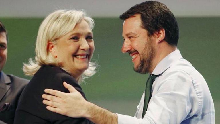 Salvini Le Pen Orban