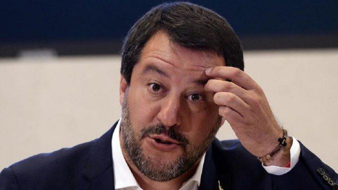 salvini polemica di maio mafia