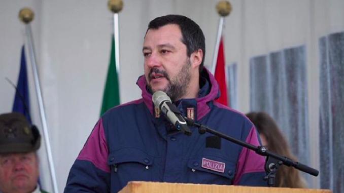 Salvini su 25 aprile e comunisti